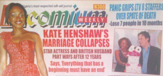 Kate Henshaw Nuttal Divorces