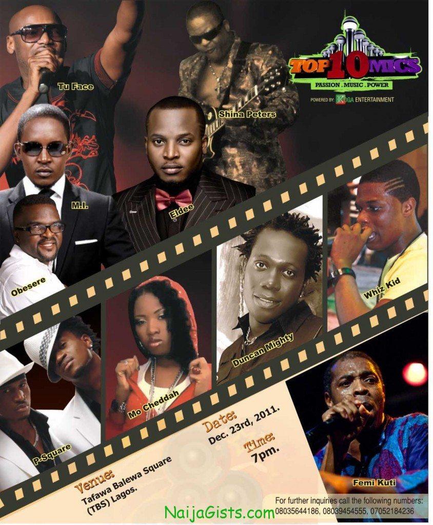 TOP10mics concert nigeria