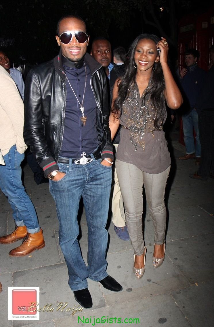 Dbanj at Genevieve Nnaji's 32nd birthday in August 2011