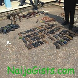 oyo customs intercept ammunition