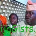 yoruba man and 4 wives at american embassy