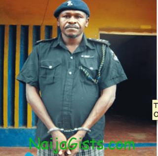 Emmanuel Ochiba execution nigerian policeman