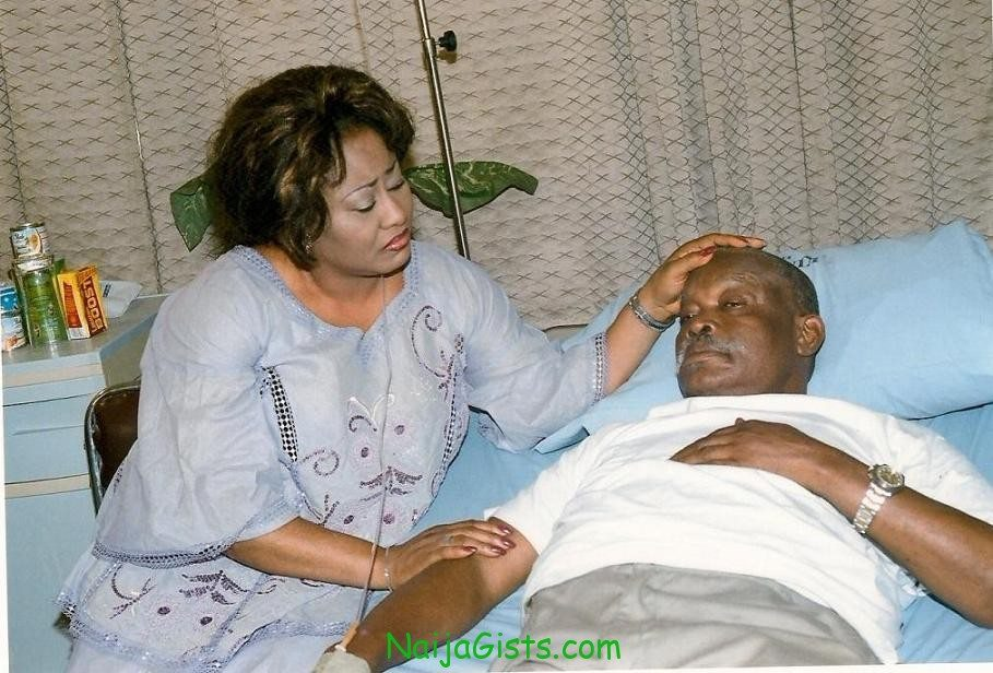 Enebeli elebuwa recovering from stroke