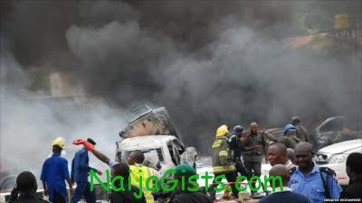 boko haram ekiti inec office bombed