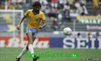 Brazil legend, Socrates