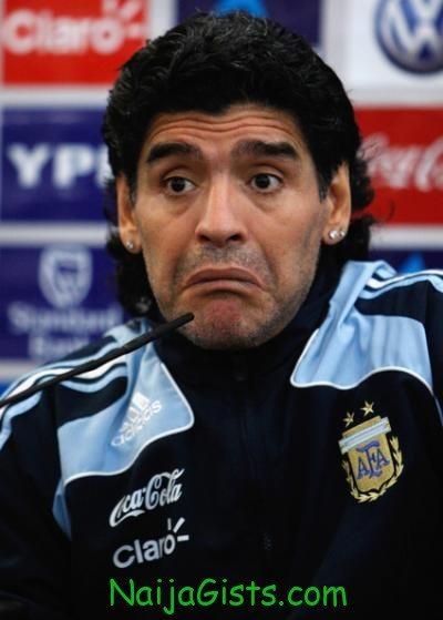 diego maradona suspended
