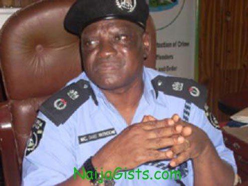 Nicholas Nkemdeme, Ogun State Commissioner of Police