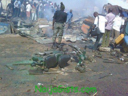 kaduna bomb blast by boko haram