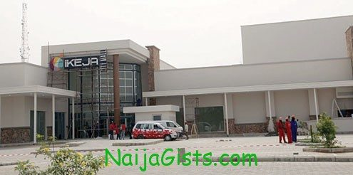 Ikeja City shopping Mall, at Alausa area of Lagos State
