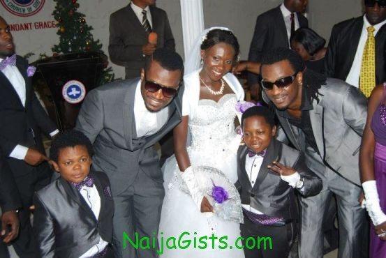 aki white / church wedding photos with psquare