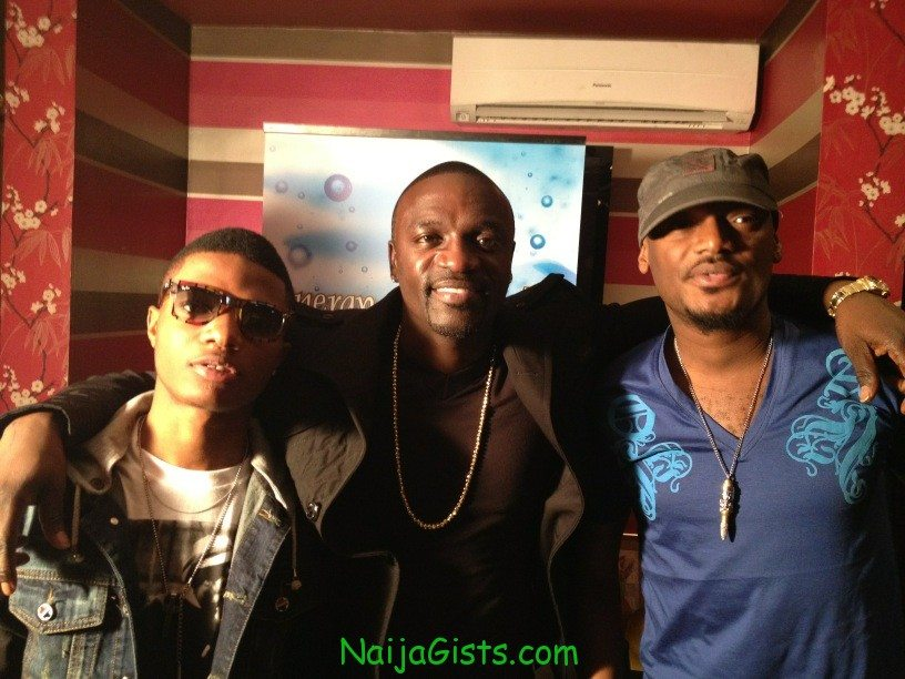 akon signs wizkid tuface psquare to record label