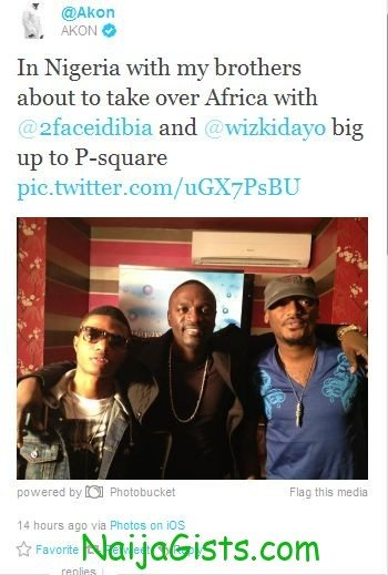 akon colab with wizkid tuface and psquare
