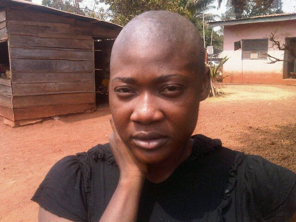 mercy johnson bald
