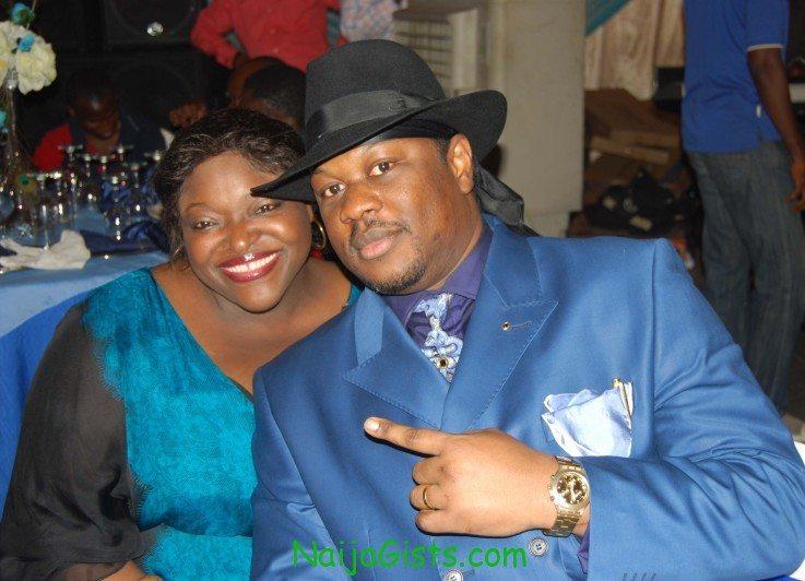 ebenezer obe's son, tunde and wife