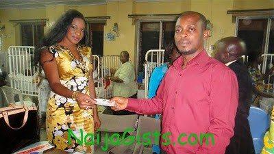 chika ike donates to hospital