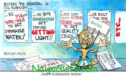 fuel subsidy beneficiaries in nigeria
