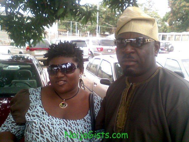 funsho adeolu and wife