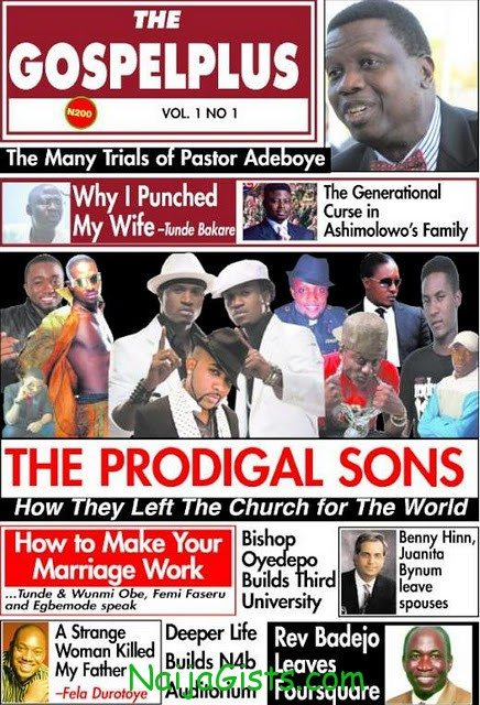 the gospel plus magazine first news headlines
