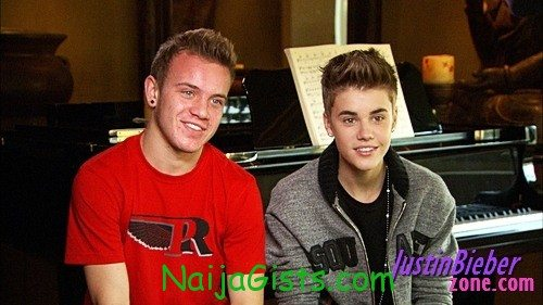 justin bieber chilhood friend gift