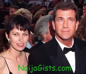 mel gibson and wife divorces