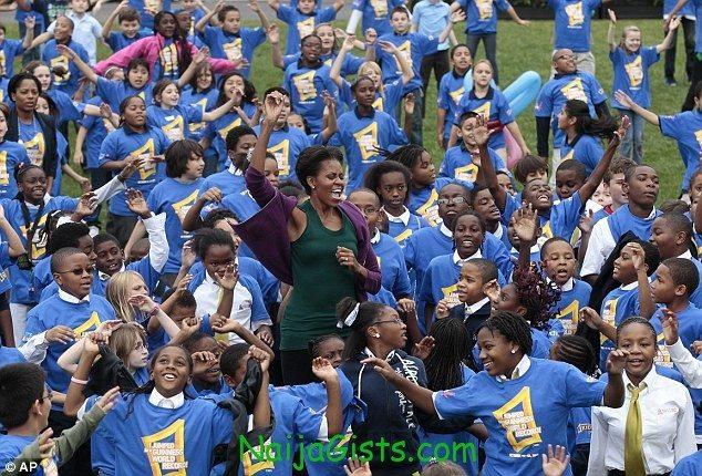 Michelle Obama Guiness World Record