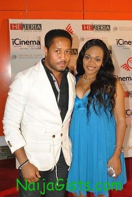 Mike Ezuruonye and wife keke