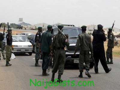 nigerian police killed taxi passenger