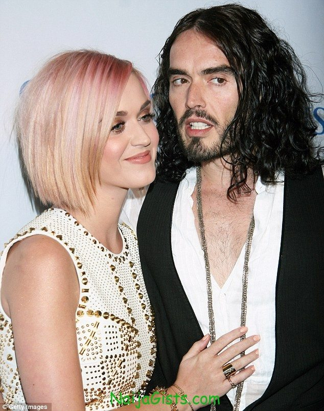 russell brand and katy perry divorce