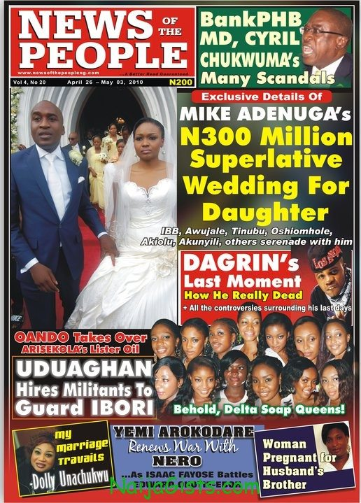 rich nigerians marry each other
