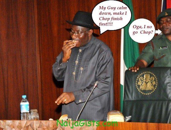president goodluck jonathan cassava bread