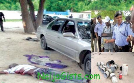 boko haram suicide bomber dies in maiduguri