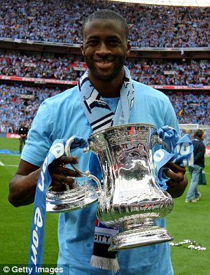 yaya toure african footballer of the year 2011