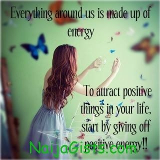 To attract positive things in your life