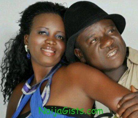 mr ibu and wife stella