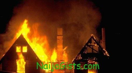 nigerian idol studio catches fire