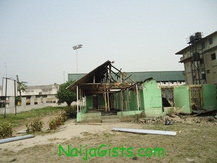 Church of God Mission international that was burnt this morning in port harcourt