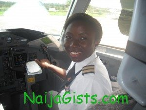 nigeria's youngest female commercial pilot