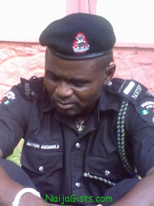 Fake Nigerian Police officer