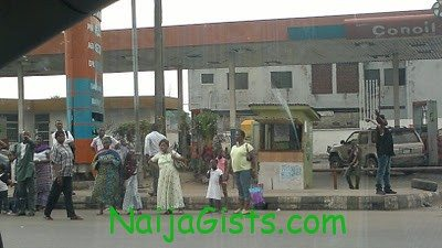 commuters left stranded in lagos