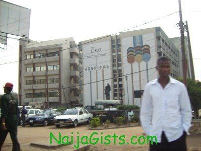 fire at eko hospital