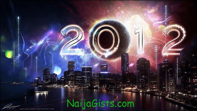 Happy New Year 2012 Nigeria