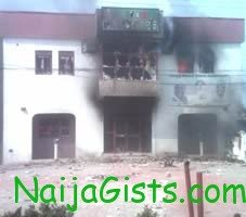 ibb campaign office burnt in niger state