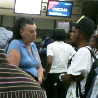 nigerian boy and white grandmother