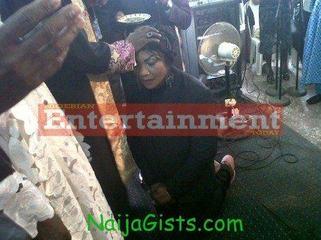 nollywood actress Eucharia Anunobi - Ordained a pastor