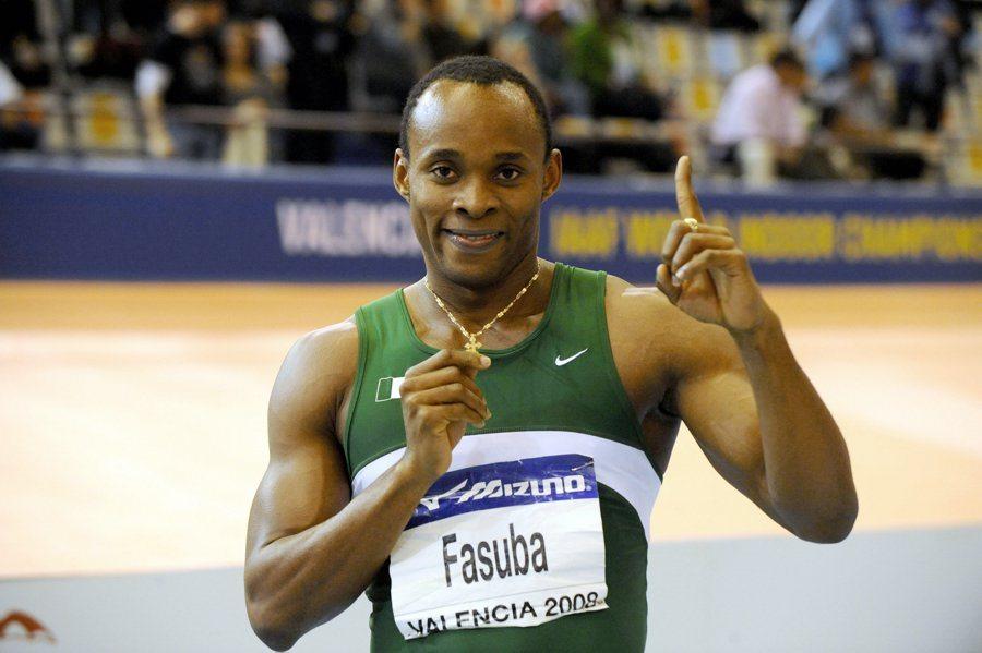 Olusoji Fasuba fastest man in africa