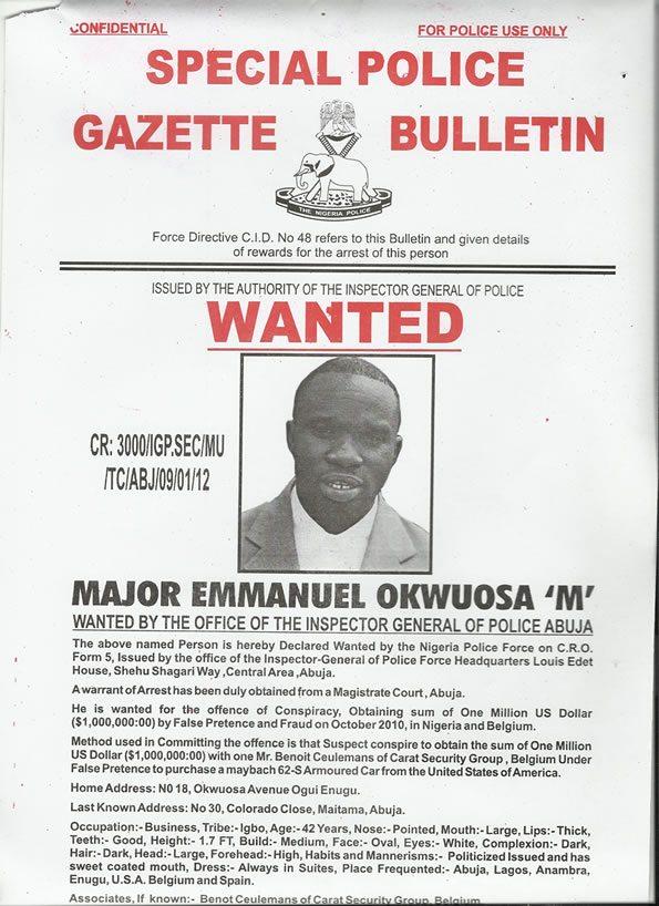 Major Emmanuel Okwuosa