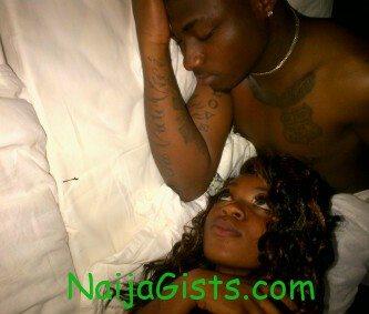 davido and lover in bedroom ghana