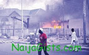 boko haram attack gombe police station