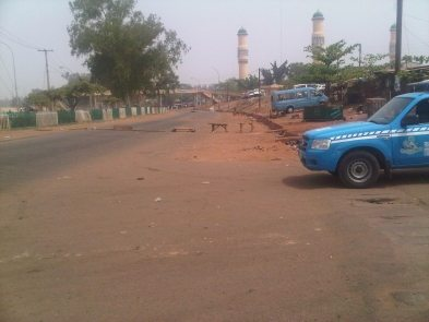 boko haram bombed packed car found in maiduguri