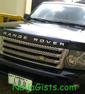 laide bakare range rover